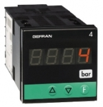 Gefran 4B48 Force, pressure and displacement transducer indicator with input for strain-gauge or potentiometer