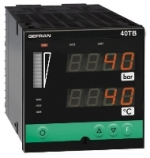 Gefran 40TB Temperature and pressure double indicator / alarm unit